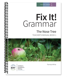 Fix It! Grammar Book 1 - Teacher's Manual