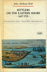 Settlers on the Eastern Shore 1607-1750