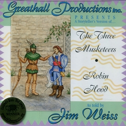Three Musketeers & Robin Hood - Audiobook