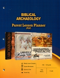 PLP: Biblical Archaeology - Parent Lesson Planner