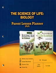 PLP: Science of Life: Biology - Parent Lesson Planner