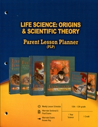 PLP: Life Science: Origins & Scientific Theory - Parent Lesson Planner