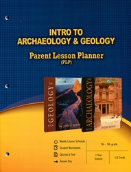 PLP: Intro to Archaeology & Geology - Parent Lesson Planner
