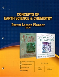 PLP: Concepts of Earth Science & Chemistry - Parent Lesson Planner