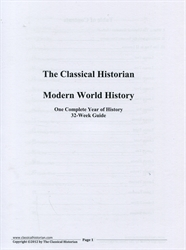 Classical Historian Modern World History - 32-Week Guide