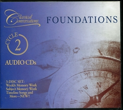 Classical Conversations Foundations Cycle 2 - Audio CDs