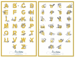 All About Reading Pre-Reading Alphabet Charts