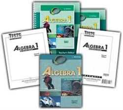 BJU Algebra 1 - Home School Kit (old)