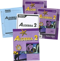 BJU Algebra 2 - Home School Kit (old)