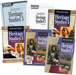 BJU Heritage Studies 3 - Home School Kit (old)