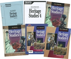 BJU Heritage Studies 4 - Home School Kit (old)