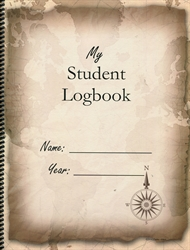 My Student Logbook - Vintage Map