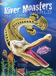 River Monsters of the World - Coloring Book