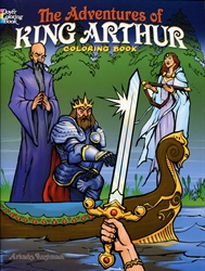 Adventures of King Arthur - Coloring Book