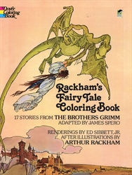 Rackham's Fairy Tale - Coloring Book