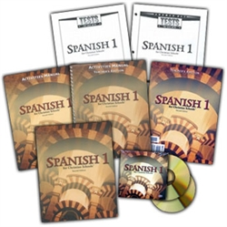 BJU Spanish 1 - Home School Kit (old)