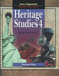 Heritage Studies 4 - Worktext Answer Key (old)