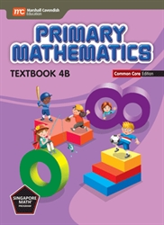 Primary Mathematics 4B - Textbook CC