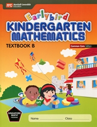 Earlybird Kindergarten Mathematics B - Textbook CC