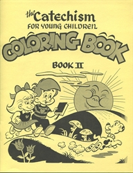 Catechism for Young Children Book II - Coloring Book