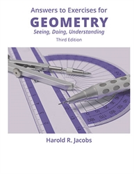 Geometry: Seeing, Doing, Understanding - Answers to Exercises
