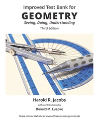 Geometry: Seeing, Doing, Understanding - Improved Test Bank