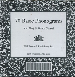 70 Basic Phonograms - CD