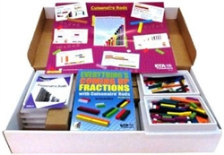 Cuisenaire Rods Kit for Fractions (Wood)