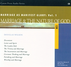 Marriage as Manifest Glory Volume 1 - CD
