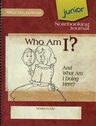 Who Am I? - Junior Notebooking Journal