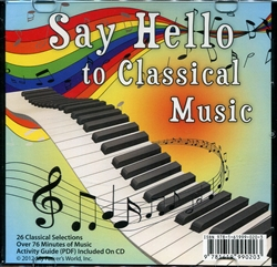 Say Hello to Classical Music - Audio CD