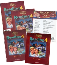BJU Reading 4 - Home School Kit (old)