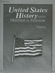 Heritage of Freedom - Test Key