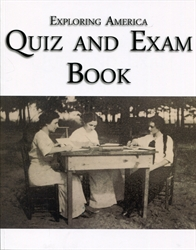 Exploring America - Quiz & Exam Book