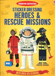 Sticker Dressing Heroes & Rescue Missions