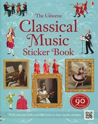 Usborne Classical Music Sticker Book
