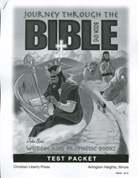 Journey Through the Bible Book 2 - Test Packet