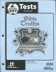 Bible Truths 6 - Test Answer Key