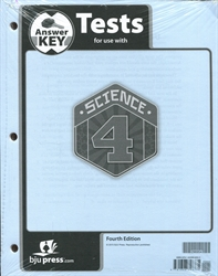 Science 4 - Tests Answer Key