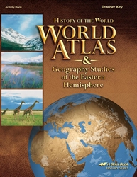 World Atlas & Geography Studies of the Eastern Hemisphere - Teacher Key