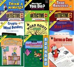 Critical Thinking Grade 3 Bundle
