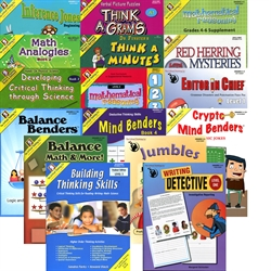 Critical Thinking Grade 4 Bundle