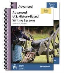 Advanced U.S. History-Based Writing Lessons - Set