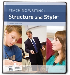 Teaching Writing: Structure and Style - Seminar Notebook