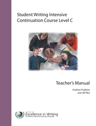 Student Writing Intensive Level C - Continuation Course Teacher's Book