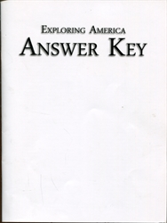 Exploring America - Answer Key