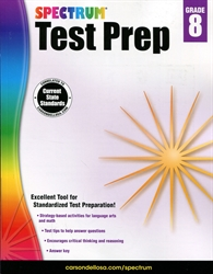 Spectrum Test Prep Grade 8