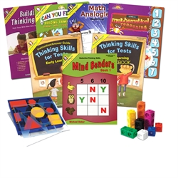 Critical Thinking CogAT Test Prep Bundle K