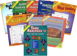Critical Thinking CogAT Test Prep Bundle 7-12