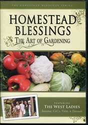 Homestead Blessings: Art of Gardening DVD